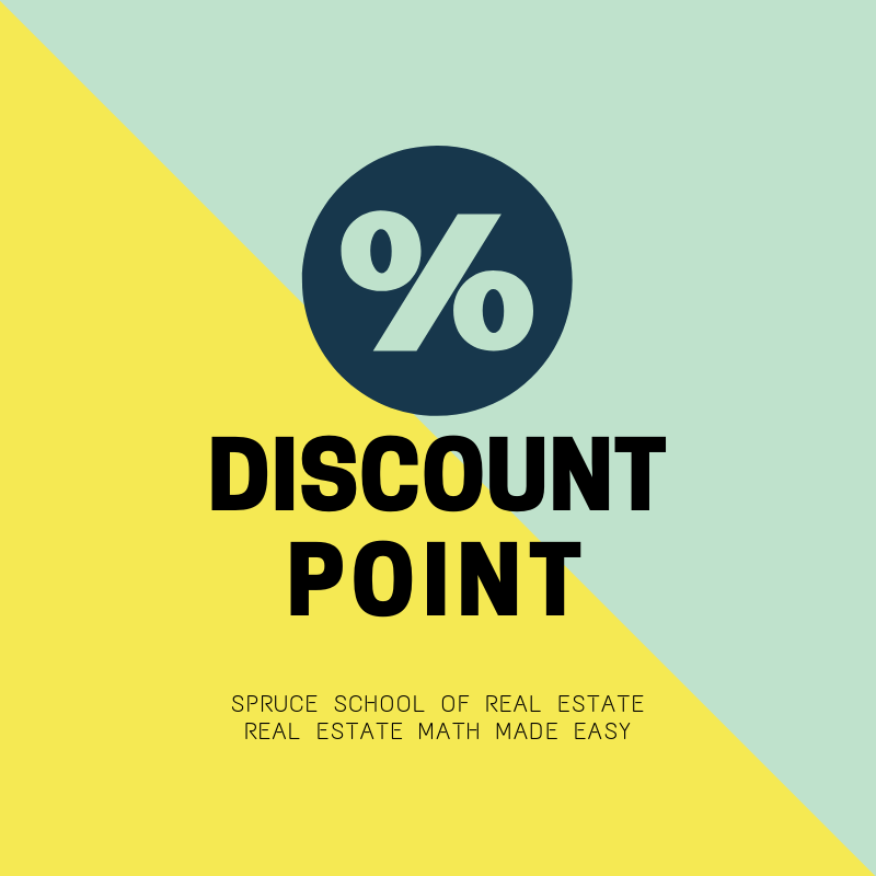 Discount Point is 1% of the mortgage amount